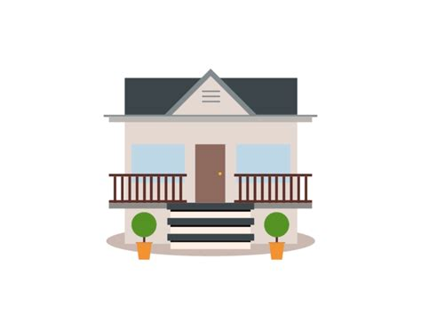 House Animation Gif By Sim Ahmed