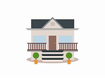 Clipart Animated Animation Houses Transparent