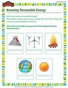 Knowing renewable energy – 3rd Grade Printable Science ...