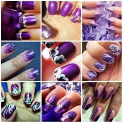Dark purple nails images