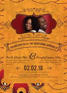 Printable african wedding invitation card nigeria igbo for Free online wedding invitations south africa