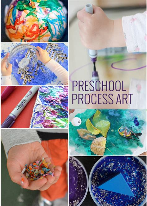 11 process projects for preschoolers 565 | Process Art