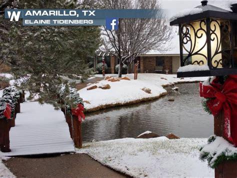 snow texas places amarillo tripstodiscover weathernation