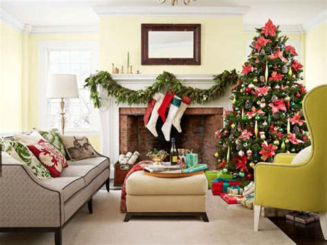 christmas country living room decorating ideas