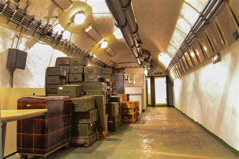 top secret bunkers  nuclear shelter sites