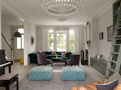 Wimbledon House  Victorian  Living Room  London By