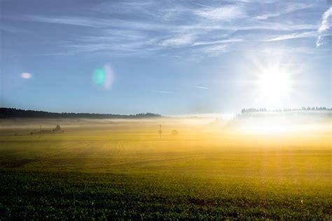 photo sunrise herbstnebel sky morning image pixabay