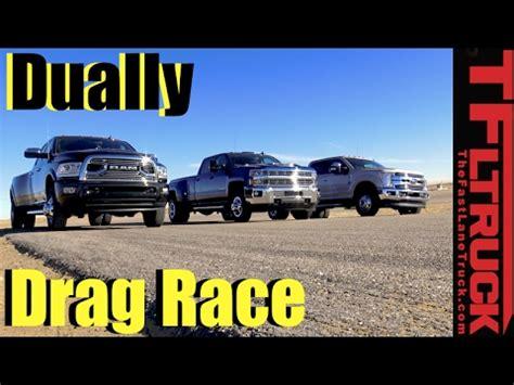 Dually Duel: 2017 Ford F 350 vs Chevy Silverado 3500 vs