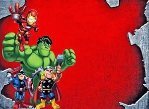 Avengers Birthday Party Invitations Ideas