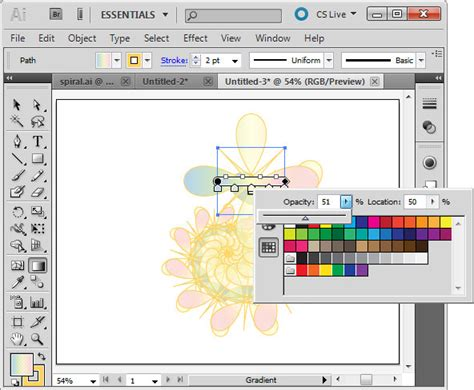 how to change gradient color in illustrator scale a gradient in illustrator cs5 171 projectwoman