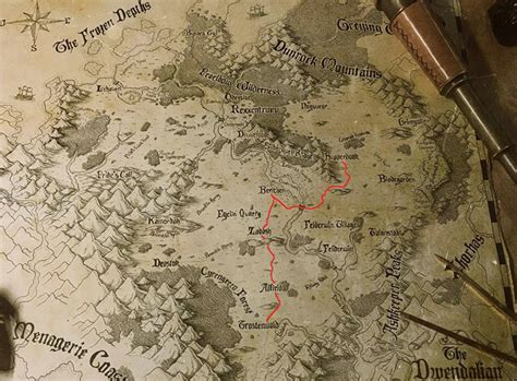 spoilers updated map   campaign criticalrole