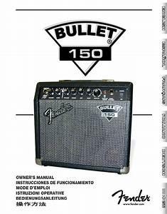 Fender Stereo Amplifier 150 User Guide