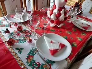 Decoration De La Table De Noel Interesting Ides Dco Pour