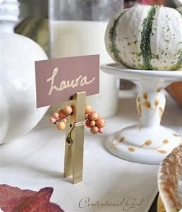 17 DIY Thanksgiving Place Card Ideas