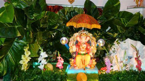 Ganapati Decoration Ideas - top 81 creative ganpati decoration ideas for home that