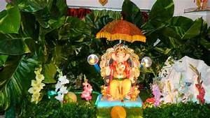 Ganesh Decoration Ideas For Home Hd