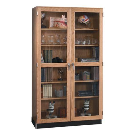 door cabinets kitchen wood storage cabinet with glass doors 48 quot w 3427