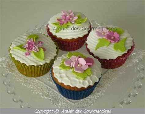 cupcakes d 233 co en p 226 te 224 sucre atelier des gourmandises