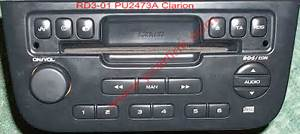 With Aux Mp3  Sd Card  Usb Peugeot  Citroen Clarion Radio Cd
