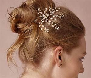 New Cheap Pearl Bridal Hair Pin Real Photo No Fading Color