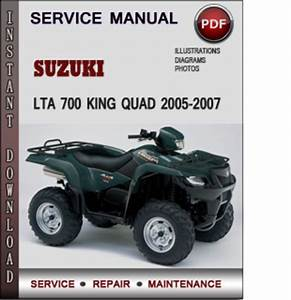Suzuki Lta 700 King Quad 2005