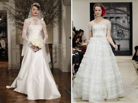 Royal Inspired Wedding Dresses With Sleeves By Reem Acra