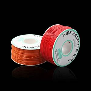 250m 30awg Red  Black  Yellow  Blue  Green  White  Purple  Orange Ok Line Circuit Board Flyer Wire