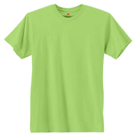 T Shirt Tshirt Green Light 4980 hanes nano t 4 5 oz 100 cotton shirts