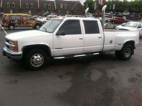 chevrolet knoxville tn purchase used 2000 chevrolet 3500 one ton diesel crew cab