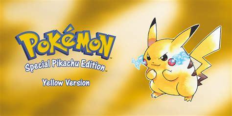 Pokemon Yellow Rom Pok 233 Mon Yellow Version Special Pikachu Edition Game Boy