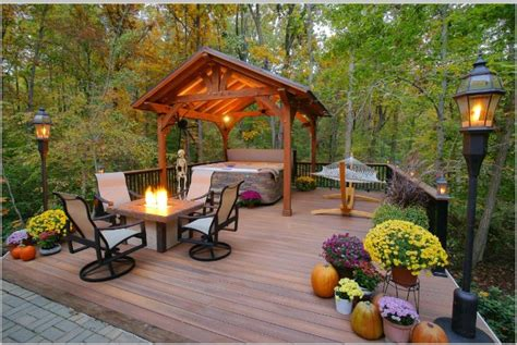 cool deck design ideas  improve  outdoor living space