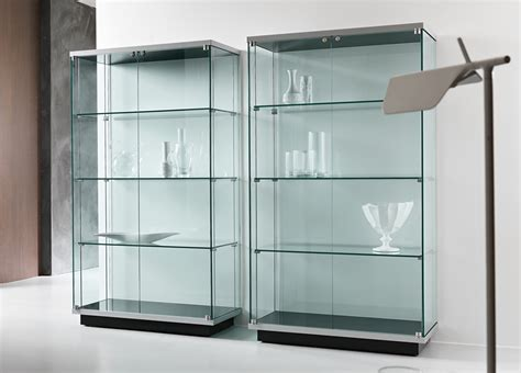 Kitchen Wall Shelf Ideas - tonelli broadway one glass cabinet glass furniture modern furniture