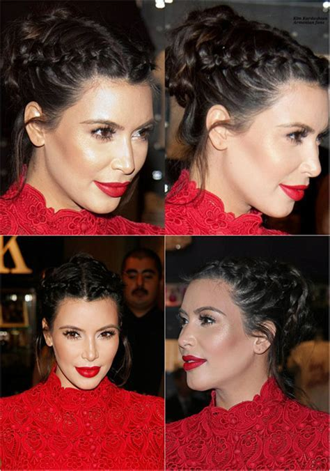 Celebrities? Looks   Kim Kardashian Best Hair Styles 2014