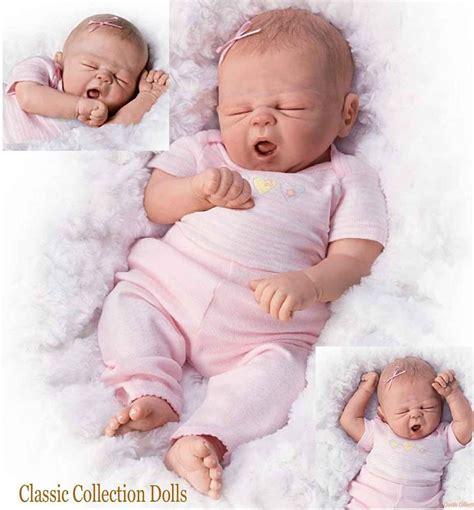"Ashton Drake ""so Sleepy Sophie"" Lifelike Newborn Baby"