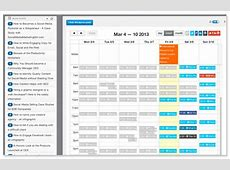 Social Media Calendar Template Google Docs planner