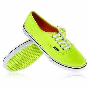 Vans U Authentic LO PRO Neon Green · TwoTip