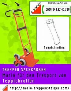 Sackkarren Für Treppen : teppichrollen trasport auf treppe ~ Watch28wear.com Haus und Dekorationen
