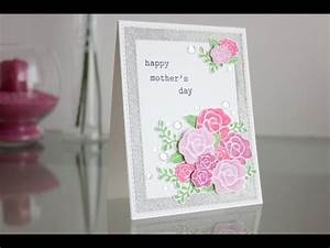 Handmade card: Happy mother's day - YouTube