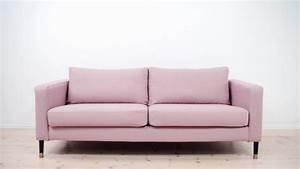 Couch überwurf Ikea : easy style makeover for your ikea karlstad sofa with bemz youtube ~ Yasmunasinghe.com Haus und Dekorationen