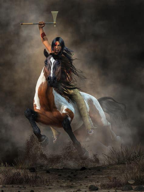 Warrior Digital Art by Daniel Eskridge