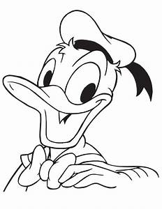 Donald Duck Coloring Pages Getcoloringpagescom