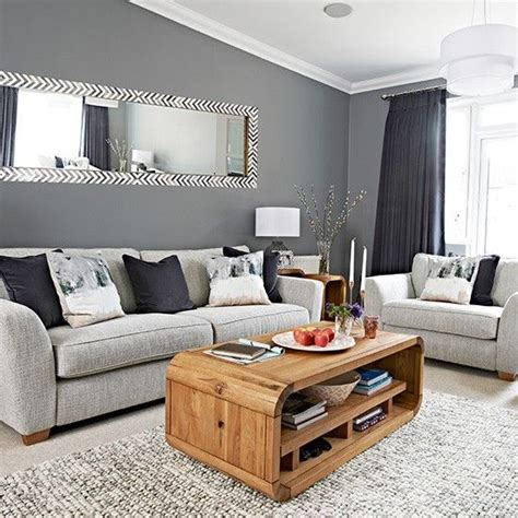 chic grey living room with clean lines home sweet home