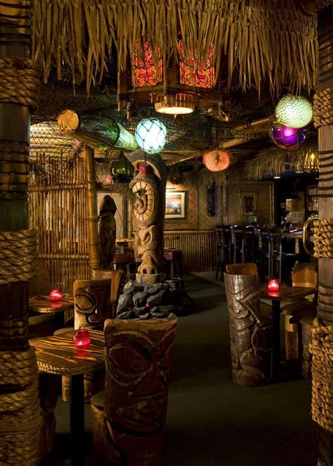 Tiki Decor - best 25 tiki lounge ideas on