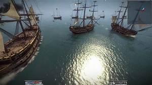 Napoleon Total War Naval Fleet Battle in 1080p, part 1 ...