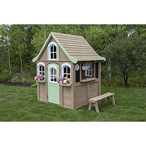 Big Backyard Playhouse by Big Backyard Forestview Wooden Playhouse By Kidkraft