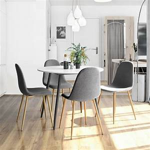 Clearance, Modern, Dining, Chairs, Gray, Soft, Inc, Linen, Cushion, And, Backrest, Mid, Century, Dining