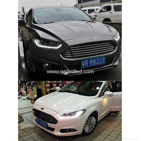 for 2013 2014 ford mondeo fusion led headlight with bi