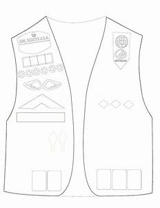 25 best ideas about girl scout vest on pinterest girl With vest top template