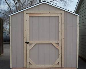 13 comprehensive plans and walk thrus to build shed doors for Building barn doors for shed