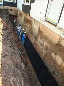 Paraseal Membrane Application  Basement  Waterproofing In